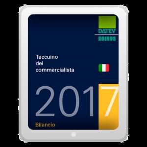 Taccuino del commercialista 2017 - Bilancio (EPUB)