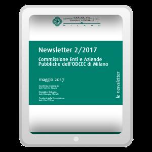 Newsletter 2/2017 - Commissione Enti e Aziende Pubbliche