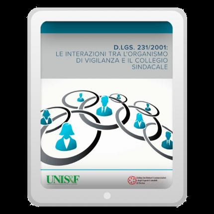 Interazioni tra l'Organismo di vigilanza e il Collegio sindacale (PDF)