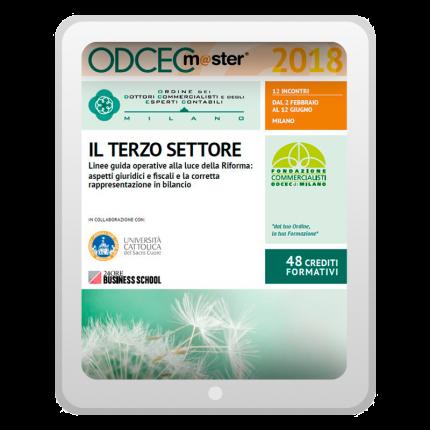 Master Terzo Settore - Locandina