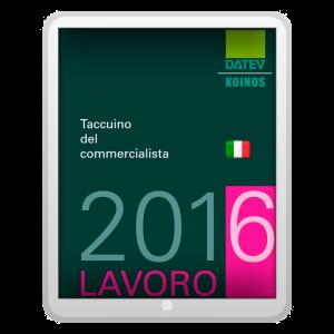 Taccuino del commercialista 2016 - Lavoro (EPUB)