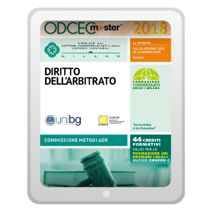 Master Diritto Arbitrato (Locandina)