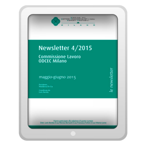 Newsletter 4/2015 - Commissione Lavoro