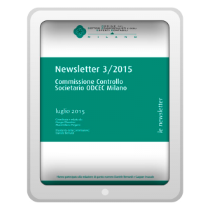 Newsletter 3/2015 - Commissione Controllo Societario