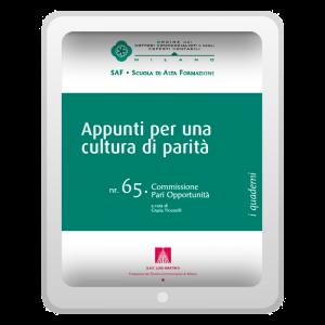Appunti per una cultura di parità (EPUB)