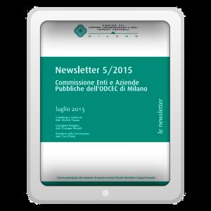 Newsletter 5/2015 - Commissione Enti e Aziende Pubbliche