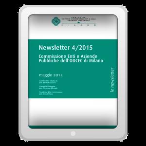 Newsletter 4/2015 - Commissione Enti e Aziende Pubbliche