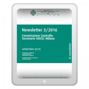 Newsletter 3/2016 - Commissione Enti e Aziende pubbliche