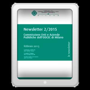 Newsletter 2/2015 - Commissione Enti e Aziende Pubbliche