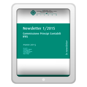 Newsletter 1/2015 - Commissione Principi Contabili