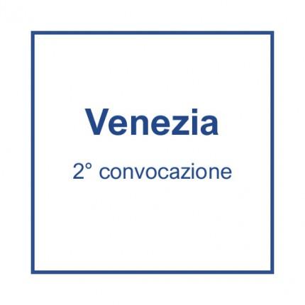 Venezia (2° convocazione) - 15 luglio, ore 11
