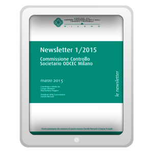 Newsletter 1/2015 - Commissione Controllo Societario