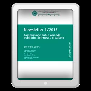 Newsletter 1/2015 - Commissione Enti e Aziende Pubbliche