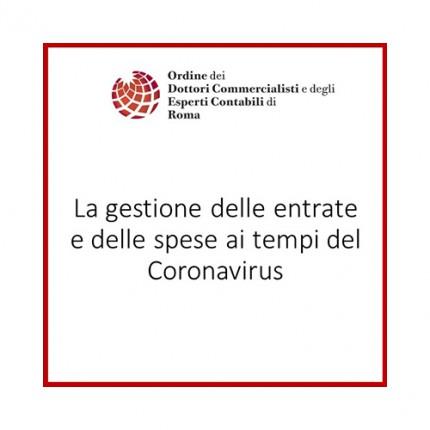 La gestione delle entrate e delle spese ai tempi del Coronavirus