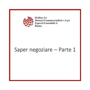 Saper negoziare - Parte 1