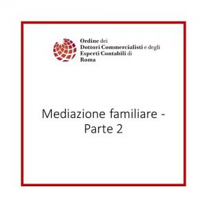 Mediazione familiare - Parte 2